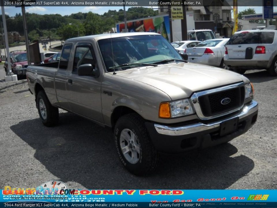 2004 ford ranger xlt supercab 4x4 arizona beige metallic medium pebble photo 18. Black Bedroom Furniture Sets. Home Design Ideas