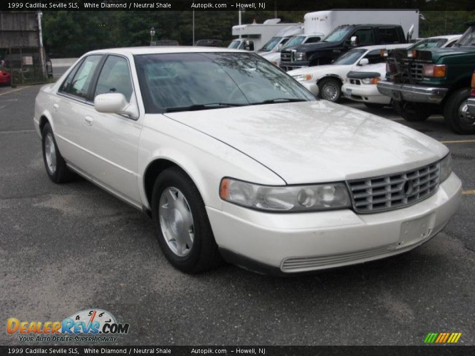 1999 Cadillac Seville Sls White Diamond Neutral Shale