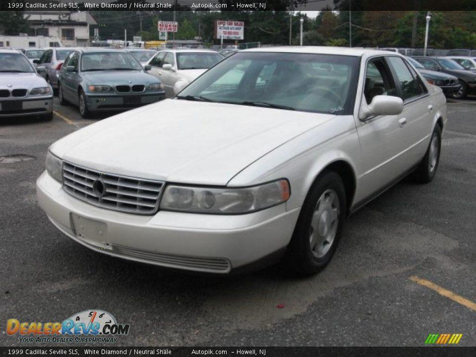 1999 Cadillac Seville Sls White Diamond Neutral Shale