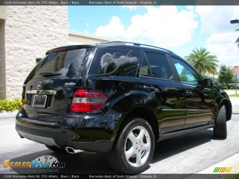 2008 mercedes benz ml 350 4matic black black photo 6 for Mercedes benz ml 350 2008