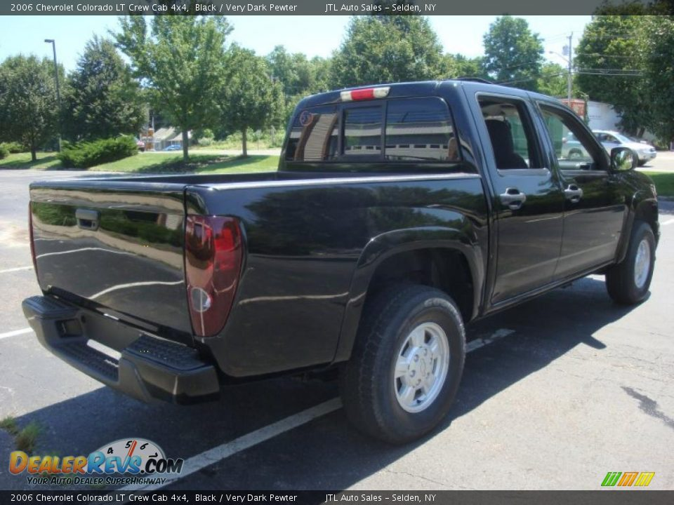 2006 chevrolet colorado lt crew cab 4x4 black very dark pewter photo 6. Black Bedroom Furniture Sets. Home Design Ideas