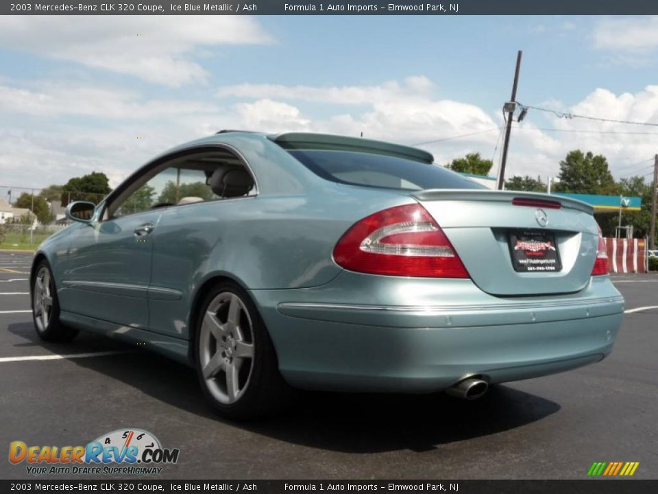 2003 mercedes benz clk 320 coupe ice blue metallic ash for 2003 mercedes benz clk