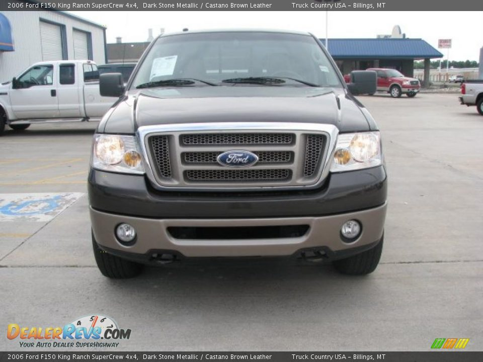 2006 ford f150 king ranch supercrew 4x4 dark stone for Motor king auto sales