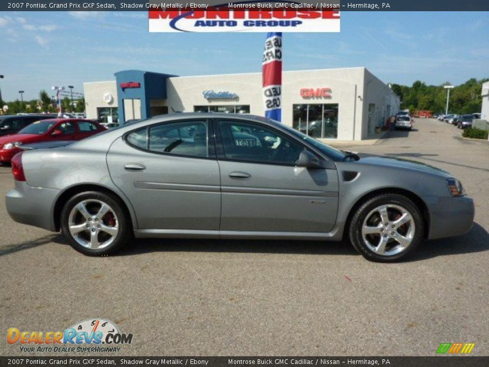 2007 pontiac grand prix gxp sedan shadow gray metallic ebony photo 1. Black Bedroom Furniture Sets. Home Design Ideas