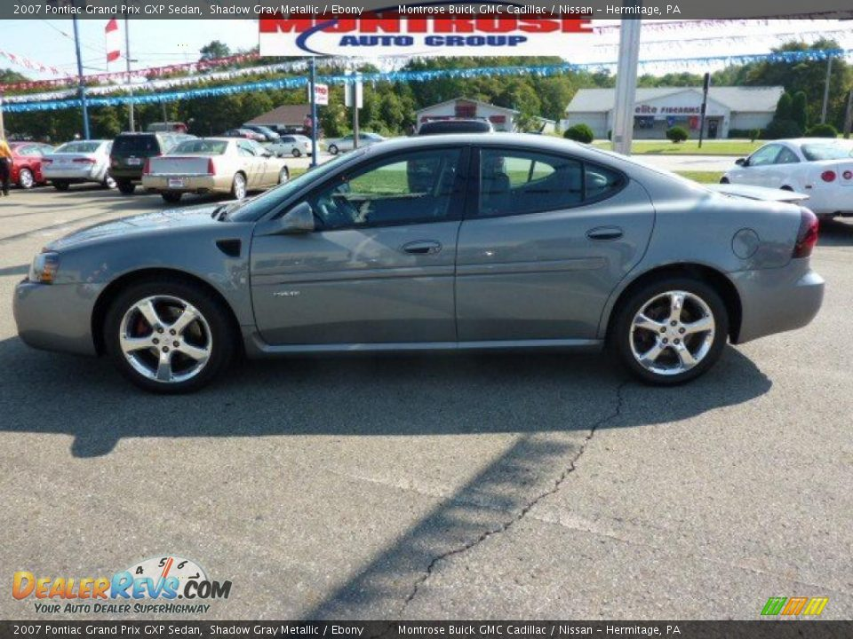 2007 pontiac grand prix gxp sedan shadow gray metallic ebony photo 5. Black Bedroom Furniture Sets. Home Design Ideas