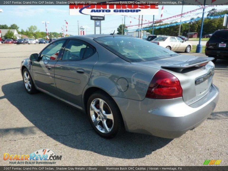 2007 pontiac grand prix gxp sedan shadow gray metallic ebony photo 7. Black Bedroom Furniture Sets. Home Design Ideas
