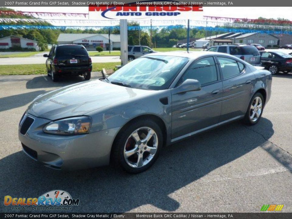 2007 pontiac grand prix gxp sedan shadow gray metallic ebony photo 14. Black Bedroom Furniture Sets. Home Design Ideas