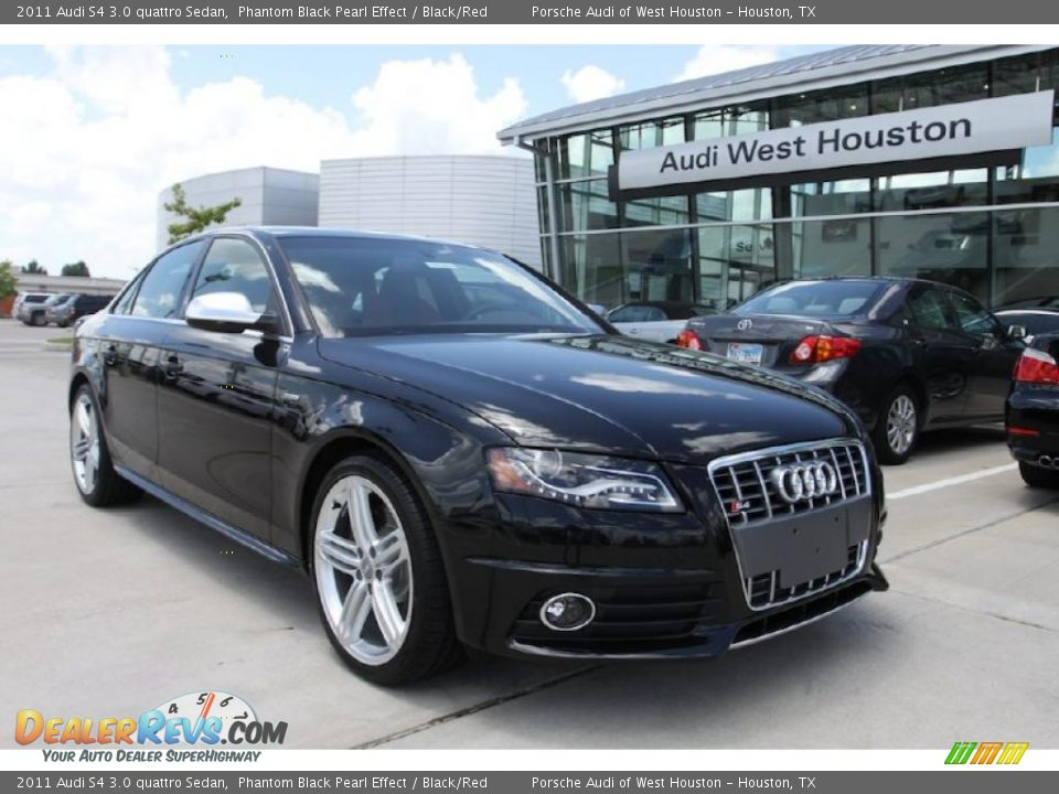 2011 audi s4 3 0 quattro sedan phantom black pearl effect. Black Bedroom Furniture Sets. Home Design Ideas