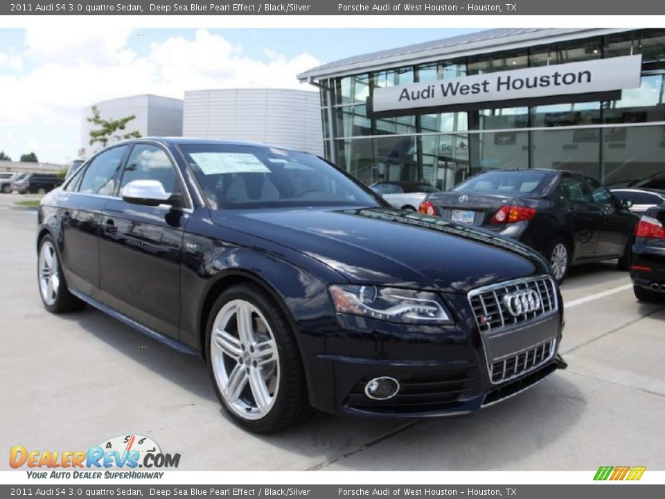 2011 audi s4 3 0 quattro sedan deep sea blue pearl effect. Black Bedroom Furniture Sets. Home Design Ideas