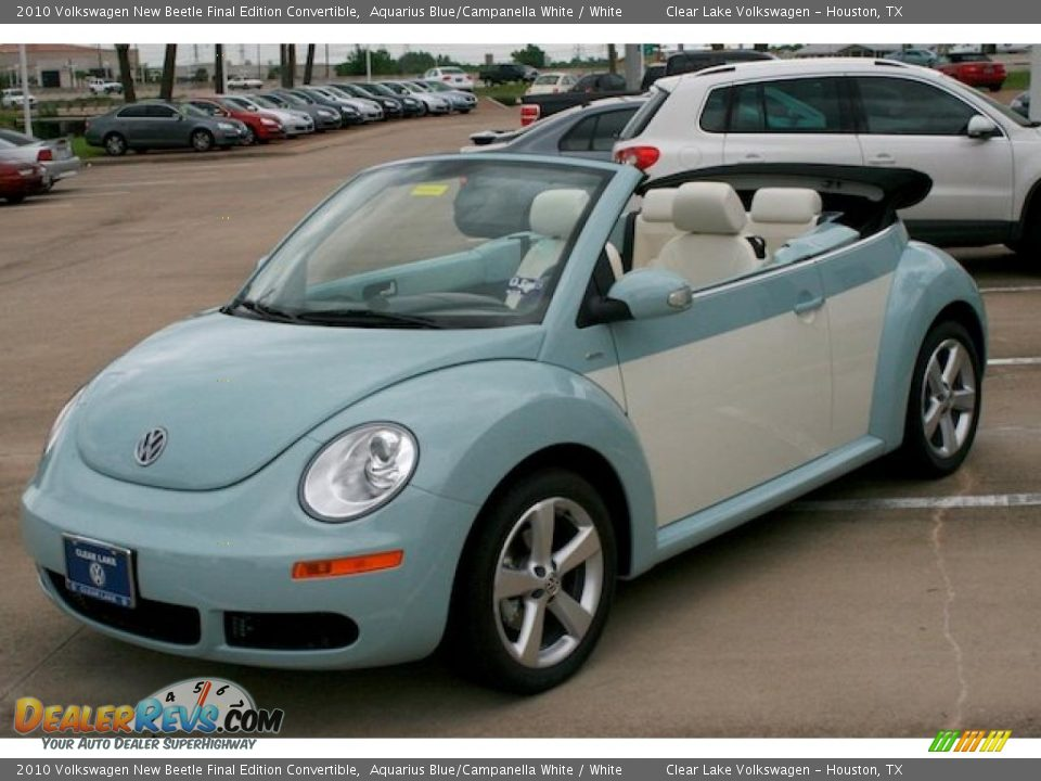 2010 Volkswagen New Beetle Final Edition Convertible ...