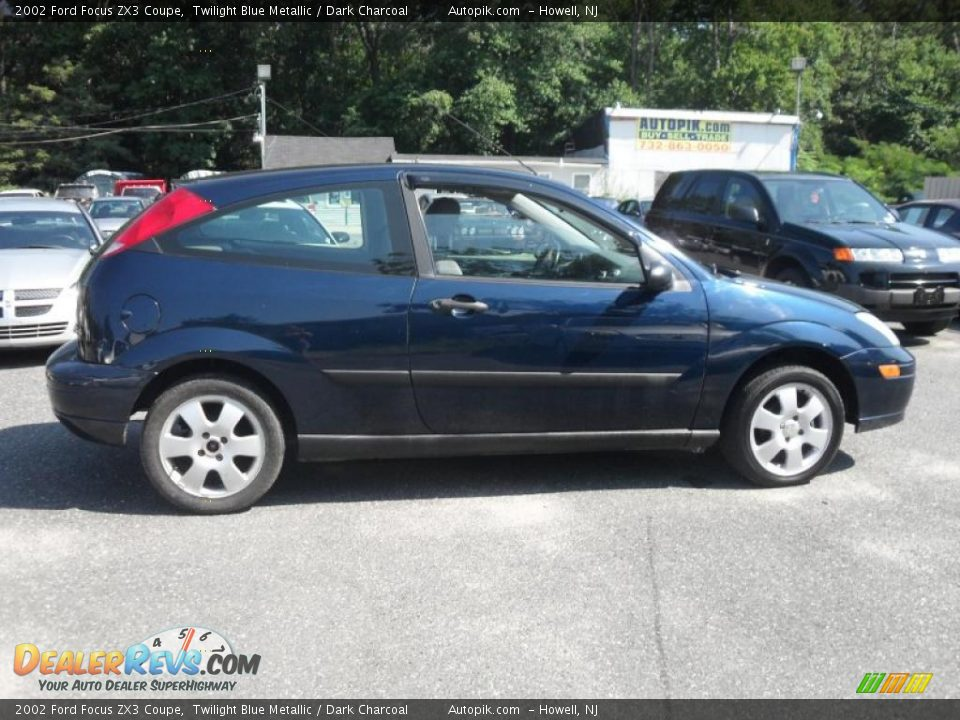 2002 Ford Focus Zx3 Coupe Twilight Blue Metallic Dark Charcoal