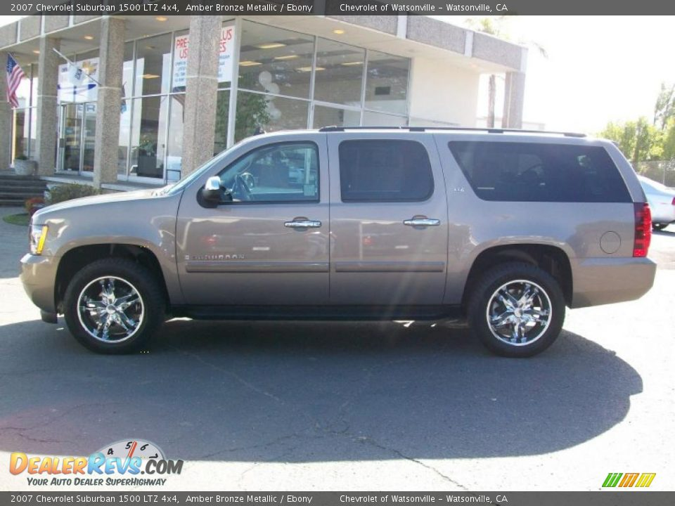 2007 chevrolet suburban 1500 ltz 4x4 amber bronze metallic. Black Bedroom Furniture Sets. Home Design Ideas