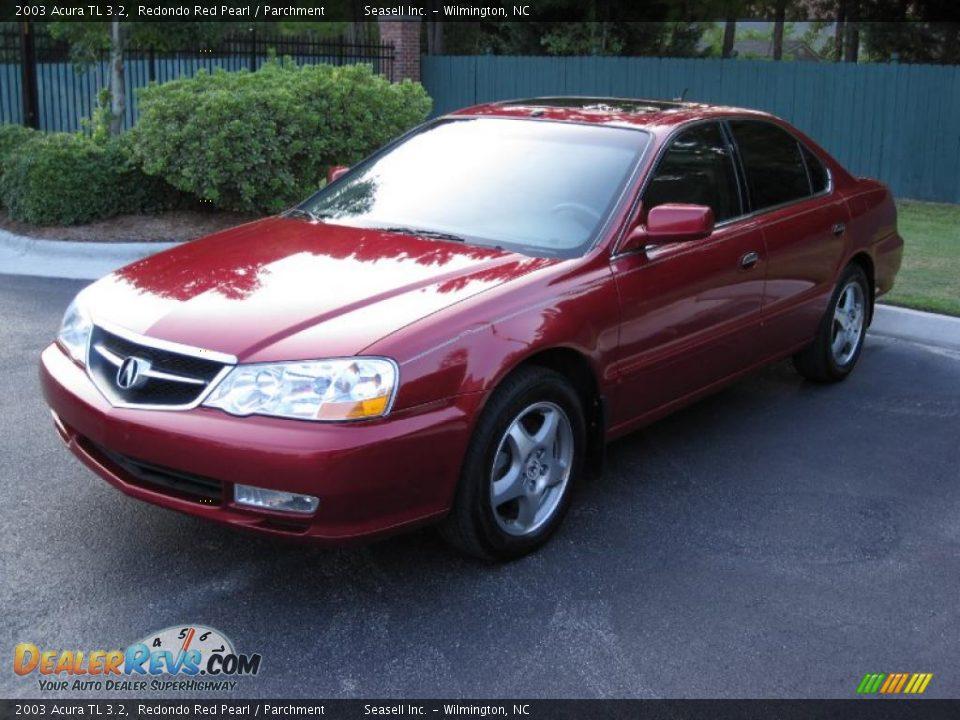 2003 Acura Tl 3 2 Redondo Red Pearl Parchment Photo 1