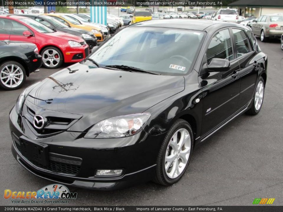 2008 mazda mazda3 s grand touring hatchback black mica. Black Bedroom Furniture Sets. Home Design Ideas