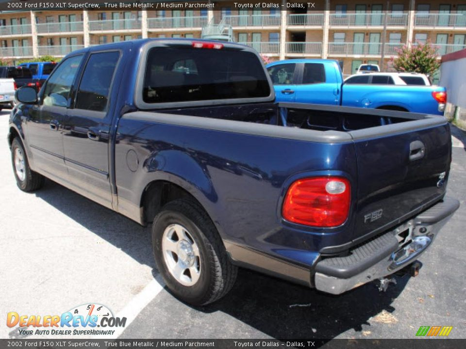 2002 ford f150 xlt supercrew true blue metallic medium. Black Bedroom Furniture Sets. Home Design Ideas