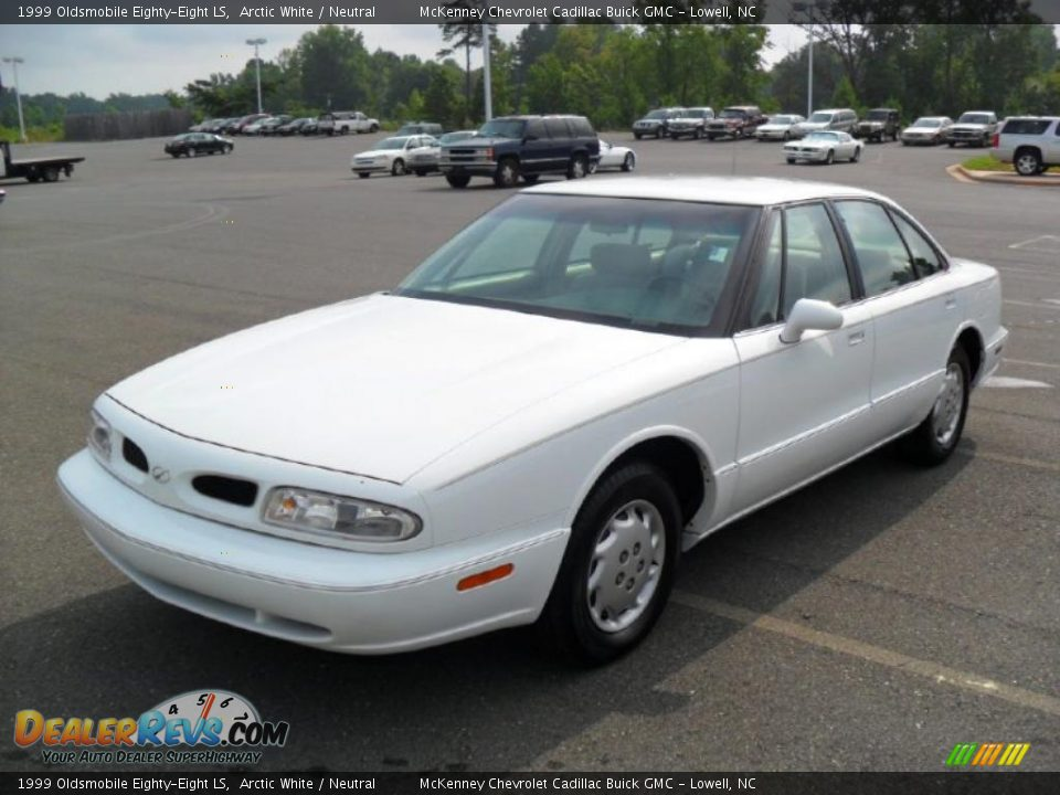 1999 Oldsmobile Eighty-Eight LS Arctic White / Neutral Photo #1 ...