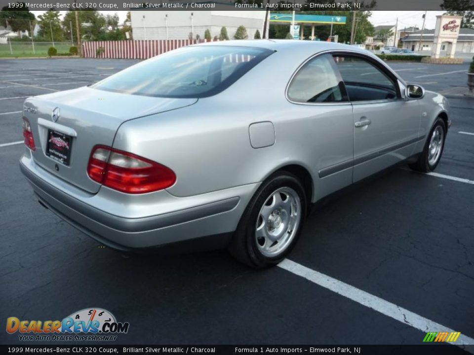 1999 mercedes benz clk 320 coupe brilliant silver metallic charcoal photo 3. Black Bedroom Furniture Sets. Home Design Ideas