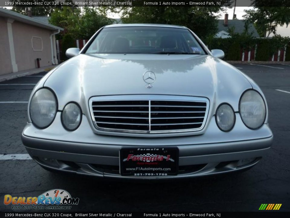 1999 mercedes benz clk 320 coupe brilliant silver metallic charcoal photo 13. Black Bedroom Furniture Sets. Home Design Ideas