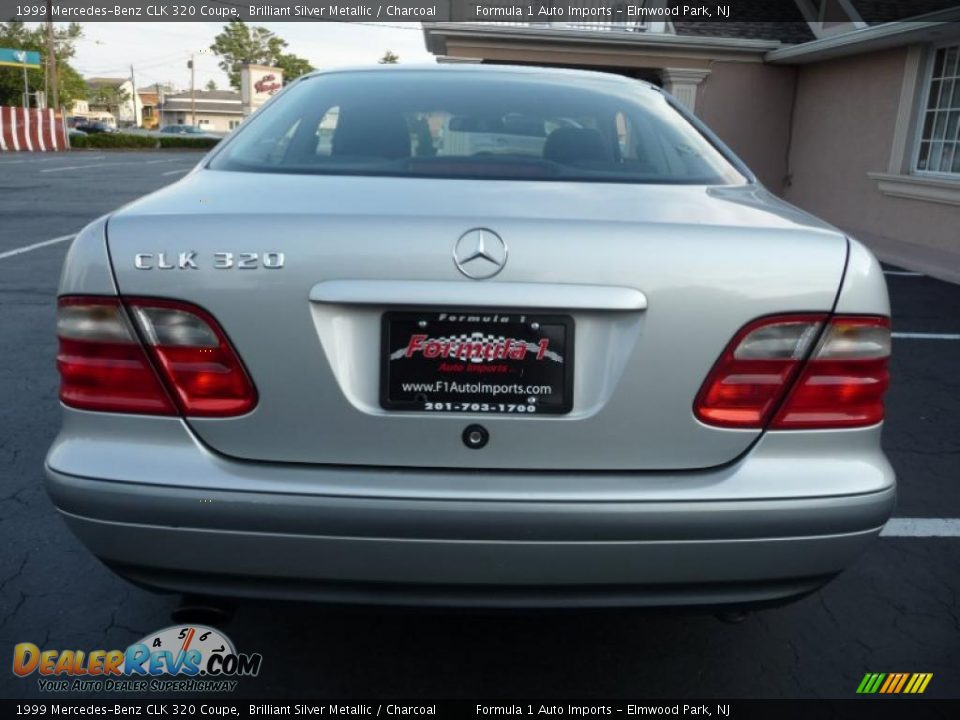1999 mercedes benz clk 320 coupe brilliant silver metallic charcoal photo 14. Black Bedroom Furniture Sets. Home Design Ideas
