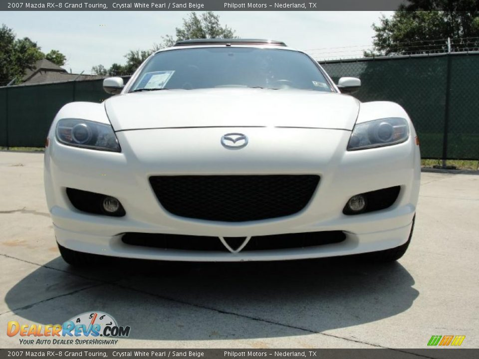 2007 mazda rx 8 grand touring crystal white pearl sand beige photo 9. Black Bedroom Furniture Sets. Home Design Ideas