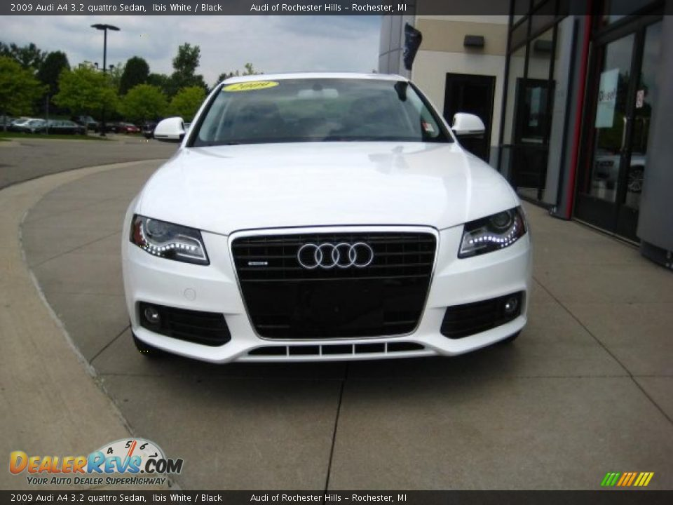 2009 audi a4 3 2 quattro sedan ibis white black photo 2. Black Bedroom Furniture Sets. Home Design Ideas