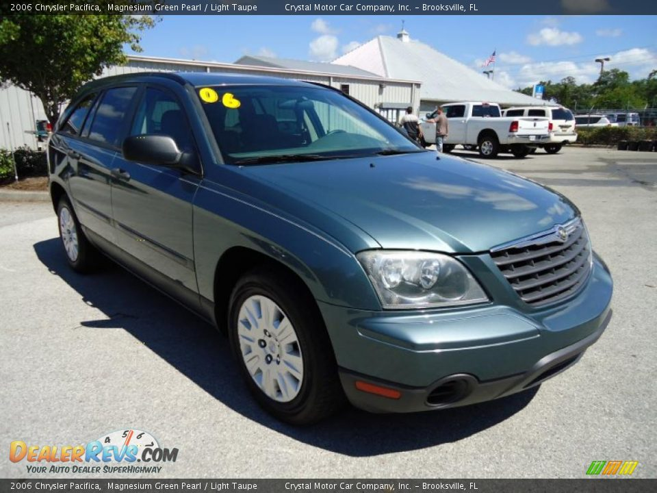 2006 chrysler pacifica magnesium green pearl light taupe photo 11. Cars Review. Best American Auto & Cars Review