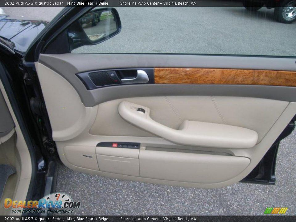 2002 Audi A6 3 0 Quattro Sedan Ming Blue Pearl Beige Photo 16 Dealerrevs Com