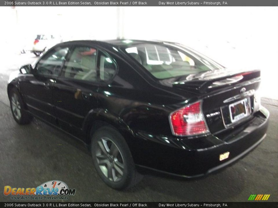 2006 subaru outback 3 0 r l l bean edition sedan obsidian. Black Bedroom Furniture Sets. Home Design Ideas