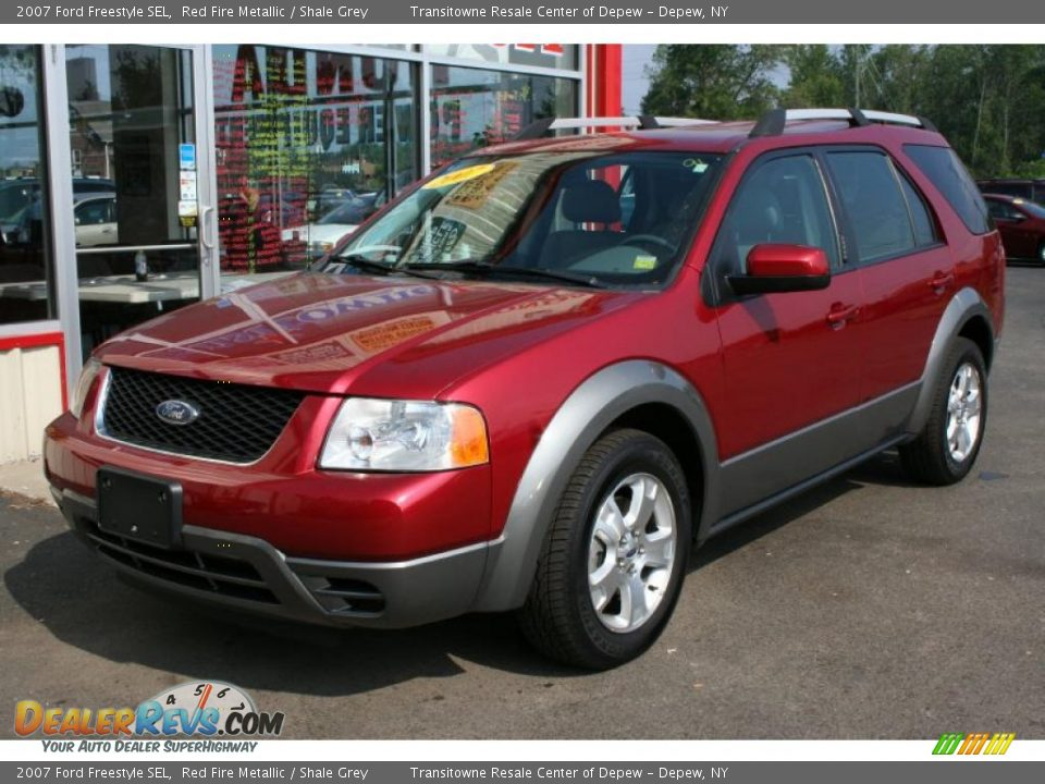 Ford Dealer Locator >> 2007 Ford Freestyle SEL Red Fire Metallic / Shale Grey Photo #1 | DealerRevs.com