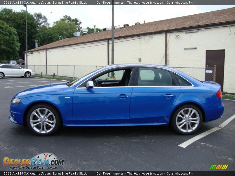 2011 Audi S4 3 0 Quattro Sedan Sprint Blue Pearl Black