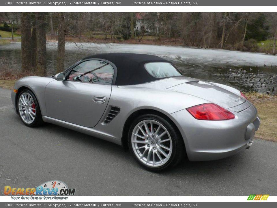 2008 Porsche Boxster Rs 60 Spyder Gt Silver Metallic