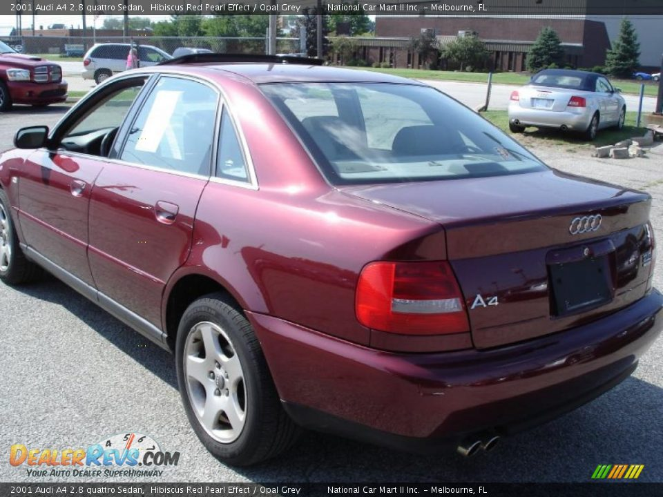 2001 audi a4 2 8 quattro sedan hibiscus red pearl effect opal grey photo 5. Black Bedroom Furniture Sets. Home Design Ideas