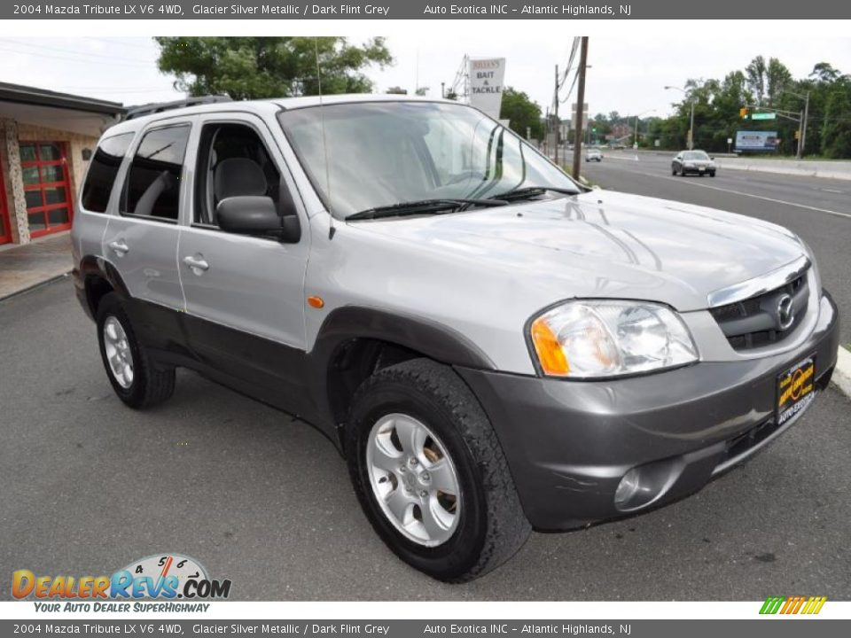 2004 mazda tribute lx v6 4wd glacier silver metallic. Black Bedroom Furniture Sets. Home Design Ideas