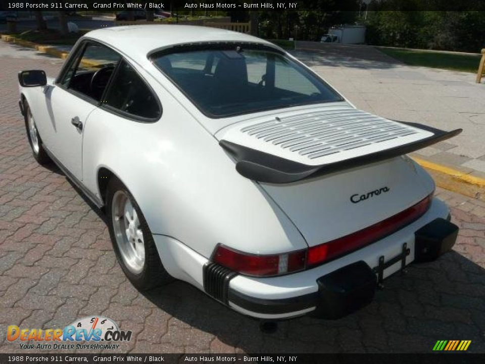 1988 porsche 911 carrera grand prix white black photo 12. Black Bedroom Furniture Sets. Home Design Ideas