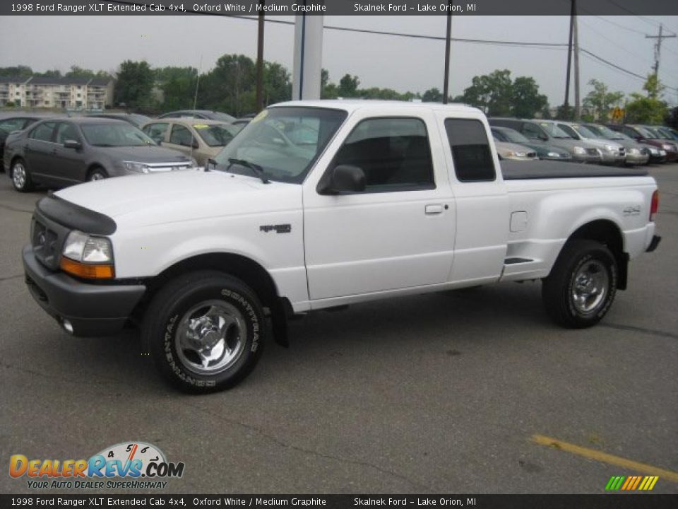 1998 ford ranger xlt extended cab 4x4 oxford white medium graphite photo 6. Black Bedroom Furniture Sets. Home Design Ideas