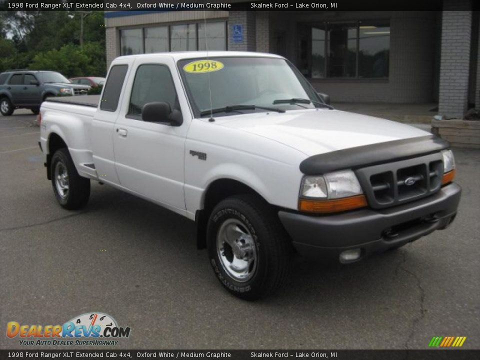 1998 ford ranger xlt extended cab 4x4 oxford white medium graphite photo 8. Black Bedroom Furniture Sets. Home Design Ideas