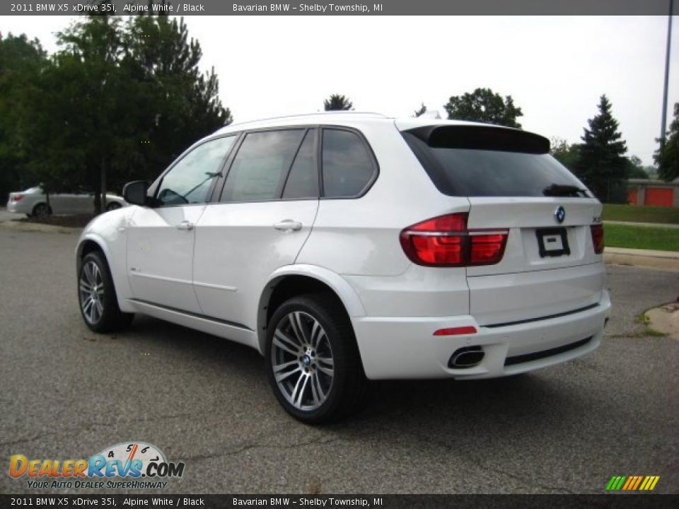 2011 bmw x5 xdrive 35i alpine white black photo 3. Black Bedroom Furniture Sets. Home Design Ideas