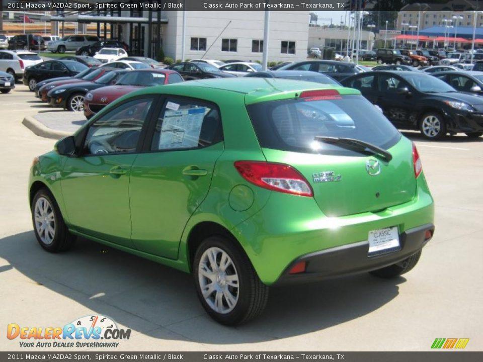 2011 Mazda Mazda2 Sport Spirited Green Metallic Black