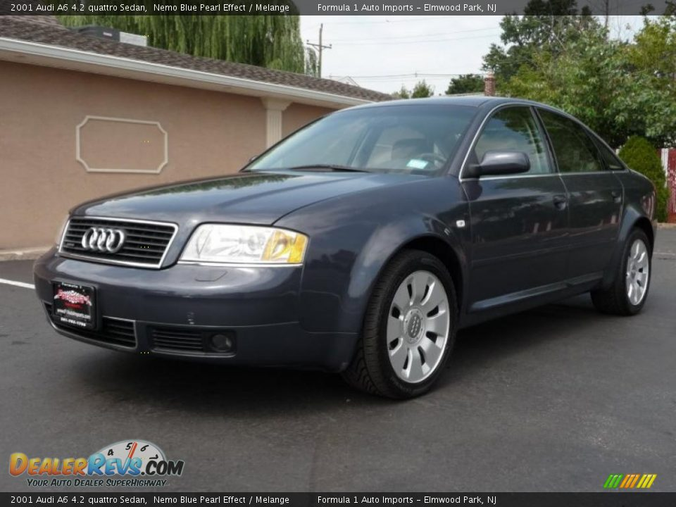 2001 Audi A6 4 2 Quattro Sedan Nemo Blue Pearl Effect