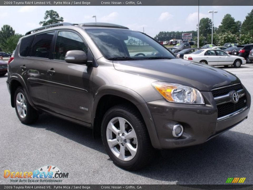 2009 Toyota Rav4 Limited V6 Pyrite Mica Sand Beige Photo