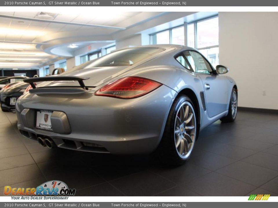 2010 porsche cayman s gt silver metallic ocean blue. Black Bedroom Furniture Sets. Home Design Ideas