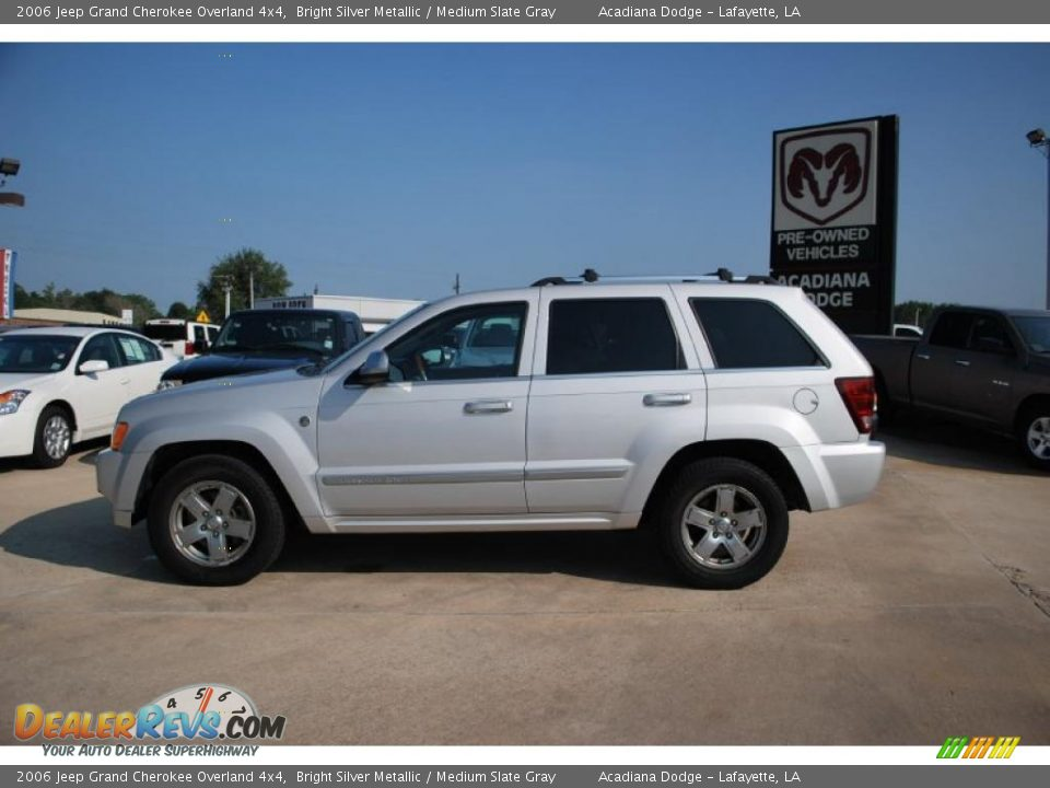 2006 jeep grand cherokee overland 4x4 bright silver metallic medium slate gray photo 2. Black Bedroom Furniture Sets. Home Design Ideas