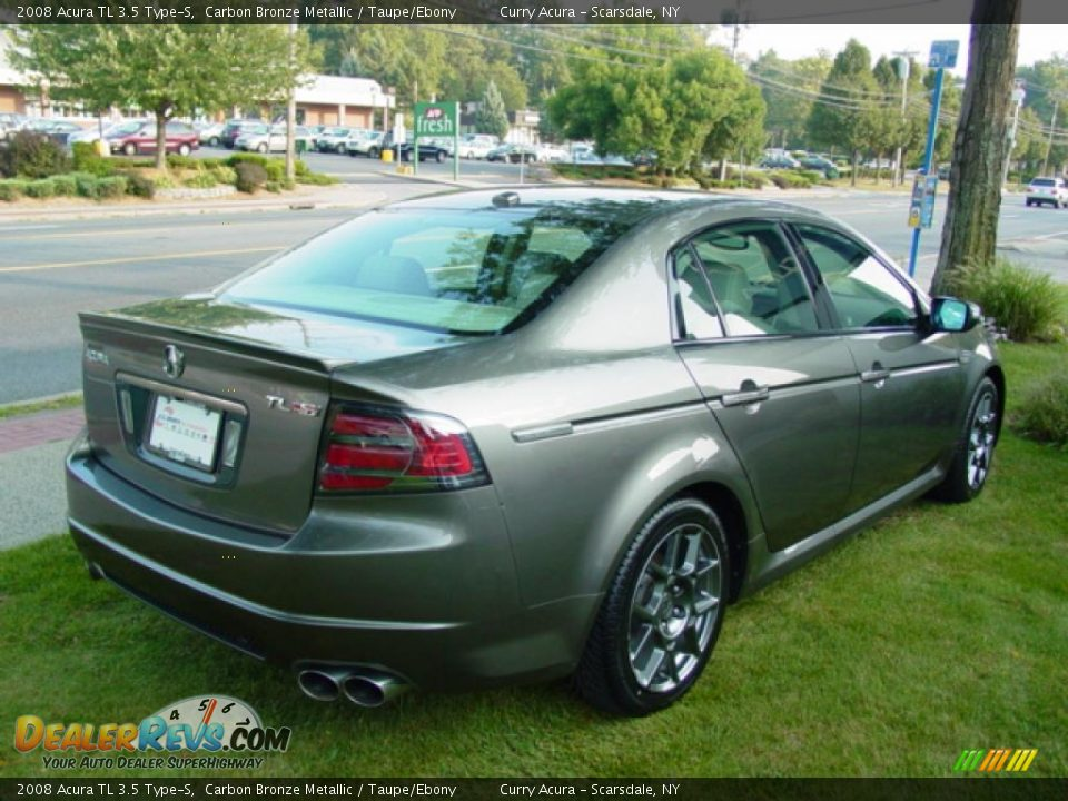 2008 acura tl 3 5 type s carbon bronze metallic taupe. Black Bedroom Furniture Sets. Home Design Ideas