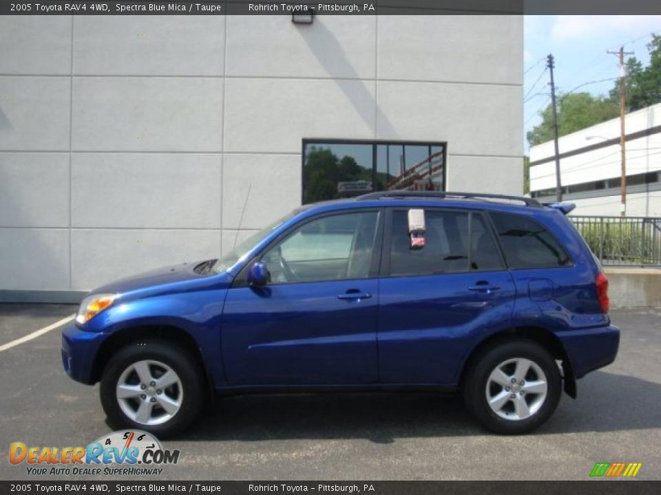 2005 toyota rav4 4wd spectra blue mica taupe photo 1. Black Bedroom Furniture Sets. Home Design Ideas