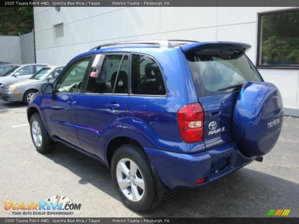 2005 toyota rav4 4wd spectra blue mica taupe photo 2. Black Bedroom Furniture Sets. Home Design Ideas