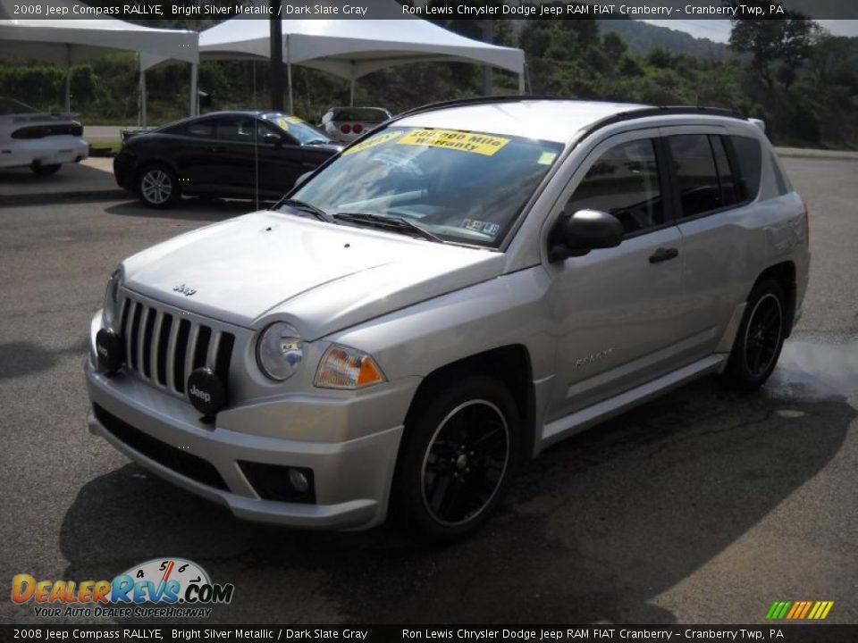 2008 jeep compass rallye bright silver metallic dark slate gray photo 16. Black Bedroom Furniture Sets. Home Design Ideas