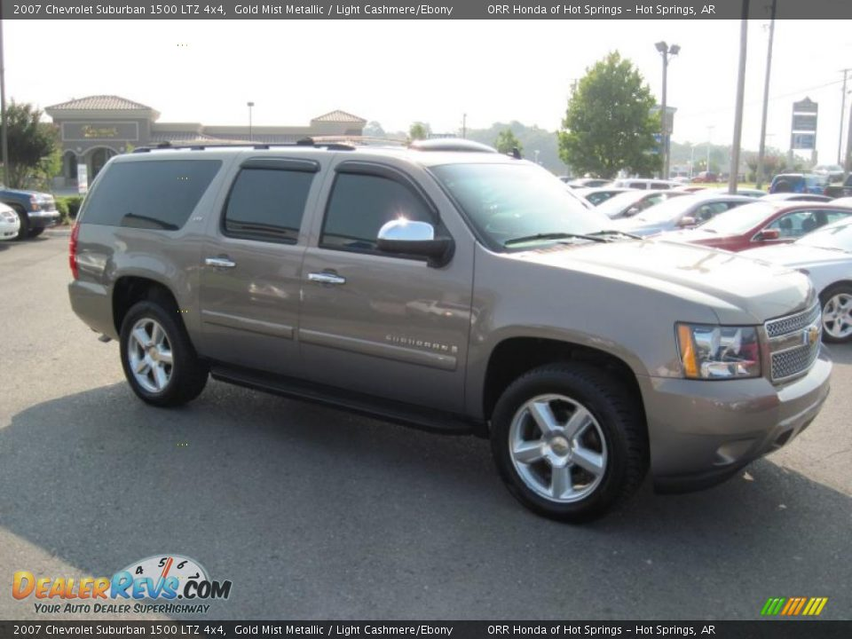 2007 chevrolet suburban 1500 ltz 4x4 gold mist metallic. Black Bedroom Furniture Sets. Home Design Ideas