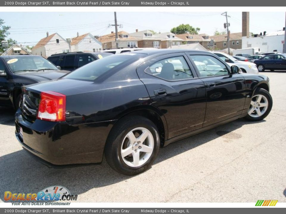 2009 Dodge Charger Sxt Brilliant Black Crystal Pearl