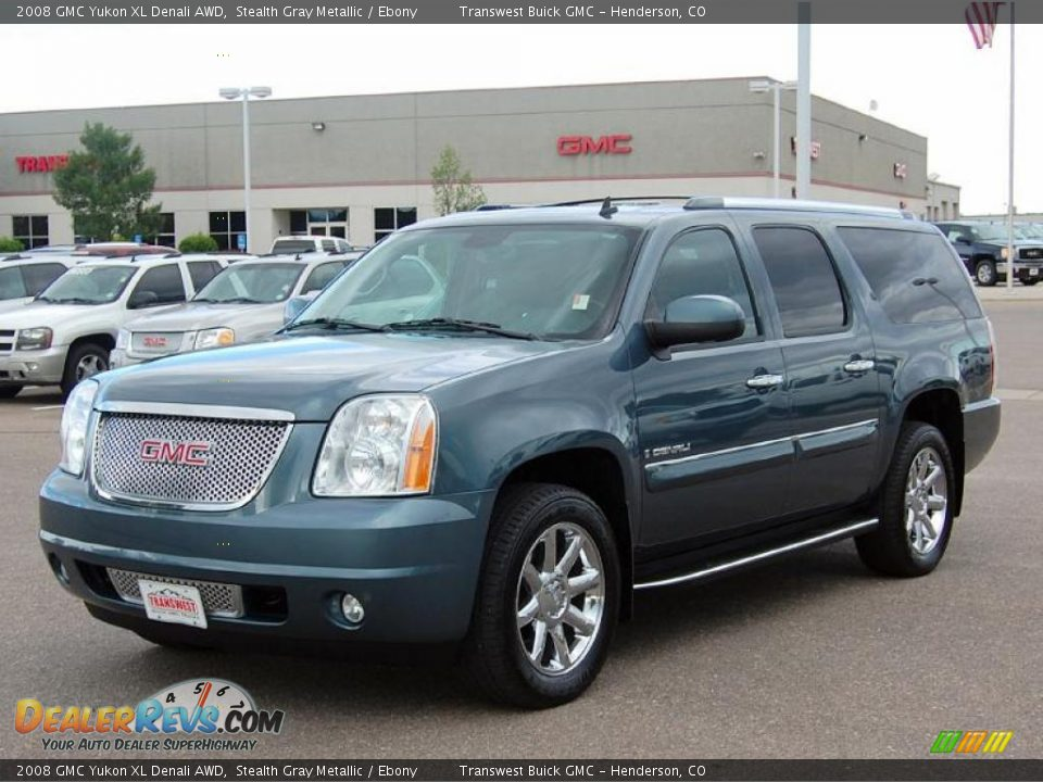 2008 gmc yukon xl denali awd stealth gray metallic ebony photo 3. Black Bedroom Furniture Sets. Home Design Ideas