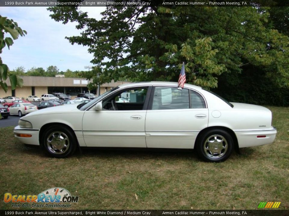 1999 buick park avenue ultra supercharged bright white diamond medium gray photo 10. Black Bedroom Furniture Sets. Home Design Ideas